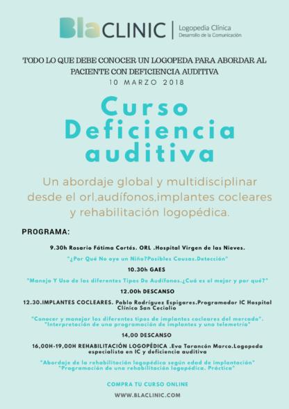 deficencia auditiva