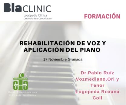 rehabilitacion voz y aplicacion piano